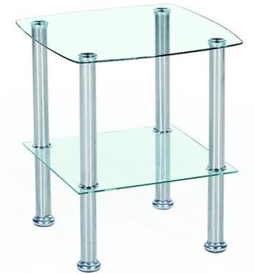 אל תהיו מרובעים! שולחן קפה בעיצוב צעיר ומיוחד מסדרת רהיטי הזכוכית מבית Homax דגם ברשיה