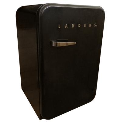 """מקרר משרדי רטרו 115 ליטר ,הפעלה ע""""י מדחס תוצרת LANDERS דגם LA130R"""