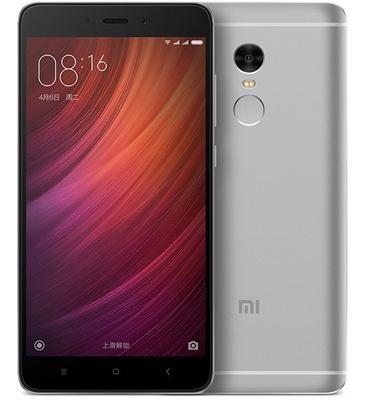 """סמארטפון 5.5"""" 64GB + 3GB RAM מבית XIAOMI דגם Redmi Note 4 64GB"""