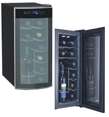 מקרר יין 12 בקבוקים.תוצרת LANDERS דגם BCW35