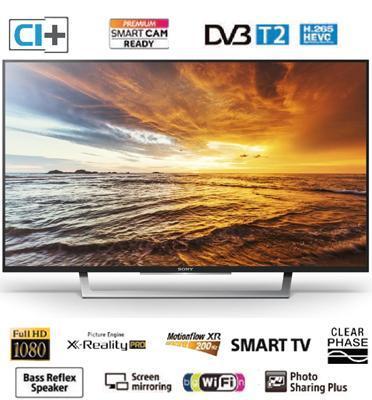 """טלוויזיה 32"""" LED SMART TV Full HD תוצרת SONY דגם KDL-32WD753BAEP"""