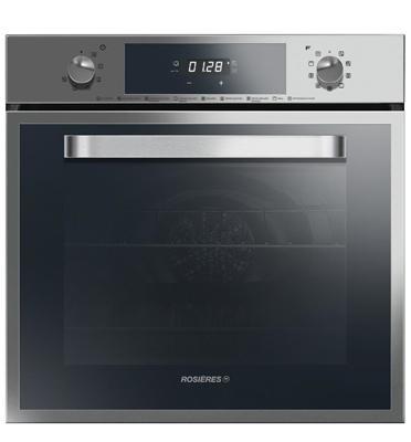 תנור אפייה בנוי פירוליטי בנפח 65 ליטר תוצרת ROSIERES דגם RFS-6571IN