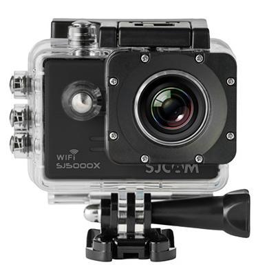 """מצלמת אקסטרים 2"""" עם WiFi מובנה, עמידות למים הקלטת וידיאו באיכות K4 מבית SJCAM דגם SJ5000x Elite"""