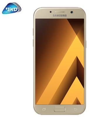 """סמארטפון מסך 5.7"""" 32GB מעבד 8 ליבות תוצרת SAMSUNG דגם GALAXY A7 (2017) SM-A720F"""