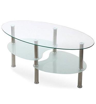 שולחן סלון דו-מדפי בעיצוב מיוחד מבית Homax דגם סמפדוריה