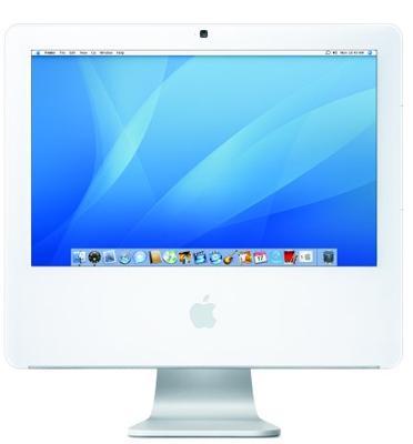 """מחשב נייח All in one מסך 17"""" מעבד Intel Core 2 Duo תוצרת Apple iMac דגם MA710LL- מחודש!"""