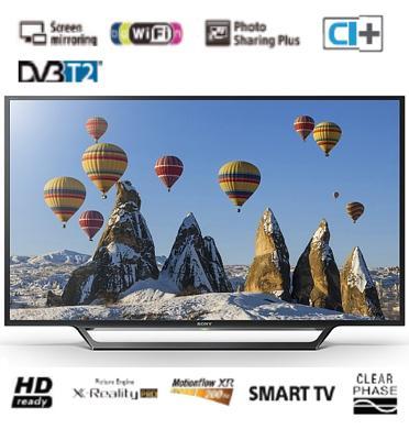 """טלוויזיה 32"""" LED SMART TV HD READY תוצרת SONY דגם KDL-32WD603BAEP"""