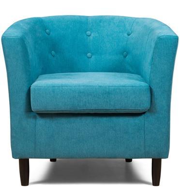 כורסא מעוצבת ונוחה עם בד איכותי רחיץ, רך ונעים למגע ורגליים מעץ מלא מבית BRADEX דגם MAURICE