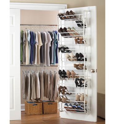 מתלה לאחסון עד 36 זוגות נעליים, לתלייה מאחורי הדלת מבית HOMAX דגם ברק