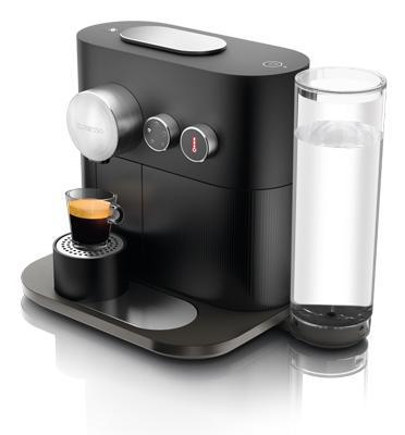 מכונת קפה Nespresso אקספרט בצבע שחור דגם C80-IL-BK-NE
