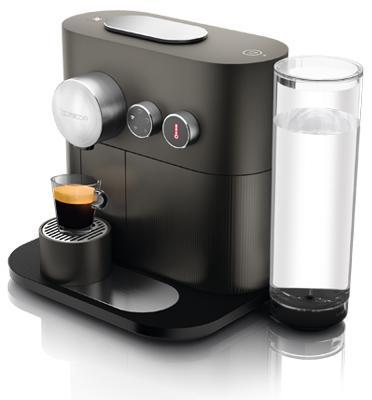 """מכונת קפה Nespresso אקספרט בצבע אפור  דגם D80-IL-GR-NE- הטבה בסך 100 ש""""ח"""