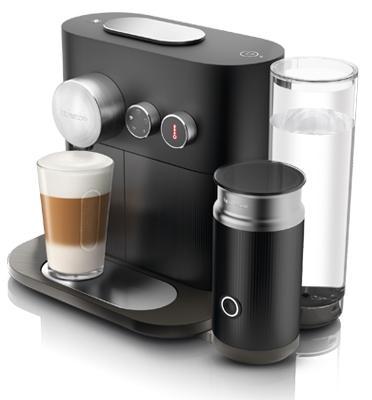 מכונת קפה נספרסו אקספרט אנד מילק+מקציף חלב מובנה צבע שחור C85-IL-BK-NE