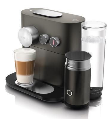 מכונת קפה Nespresso אקספרט אנד מילק+מקציף חלב מובנה אפור D85-IL-GR-NE