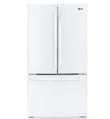 מקרר 3 דלתות בנפח 715 ליטר No Frost תוצרת LG דגם GRB264MAW