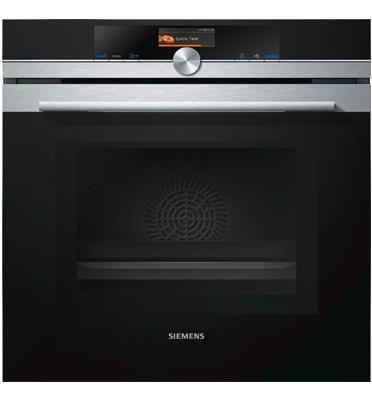 תנור בילד אין פירוליטי משולב מיקרוגל בגודל מלא נירוסטה מסדרת iQ700 תוצרת SIEMENS דגם HM676GBS1