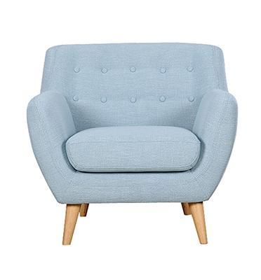כורסא מעוצבת שיא העיצוב והנוחות בד רך ונעים מבית BRADEX דגם PICASSO