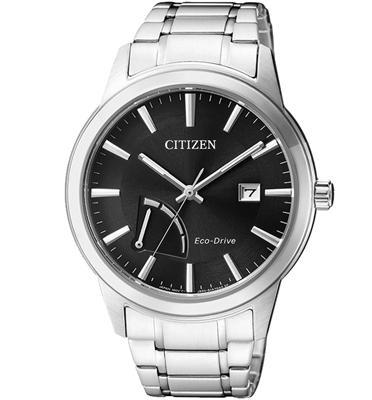 שעון יד סולארי לגבר עשוי פלדת אל חלד ללא צורך בסוללה מבית CITIZEN דגם CI-AW701054E