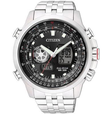 שעון יד אנלוגי דיגיטלי לגבר מבית CITIZEN עם טעינה סולארית ללא צורך בסוללה CI-JZ106050E