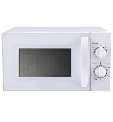 מיקרוגל מכני לבן 20 ליטר תוצרת SAUTER דגם MW-385W