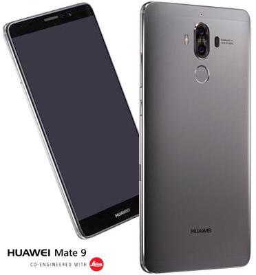 """סמרארטפון 64GB מסך 5.9"""" מצלמה כפולה אחורית 20MP מצלמה קדמית 8MP תוצרת Huawei דגם Mate 9"""