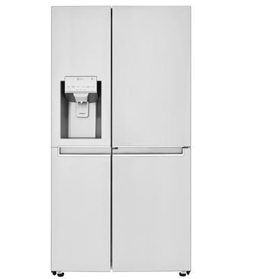 מקרר דלת ליד דלת בנפח 630 ליטר No Frost בגימור נירוסטה מוברשת תוצרת LG דגם GCJ249DID SBS