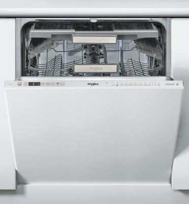 מדיח כלים אינטגרלי מלא ל- 14 מערכות כלים בעיצוב חדשני מבית Whirlpool דגם WIO 3033 DEL