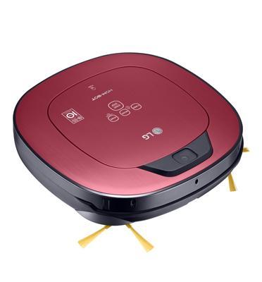 שואב רובוט HOM-BOT עם מנוע אינוורטר חכם תוצרת LG דגם VR6570LV