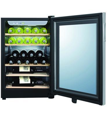 מקרר יין בנפח 97 ליטר אחסון עד 25 בקבוקים. תוצרת Haier דגם JC-87