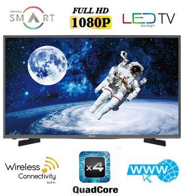 "טלוויזיה 49"" SMART LED TV Full HD תוצרת Hisense דגם 49K3110PW"