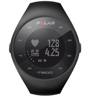 שעון דופק ללא צורך ברצועת דופק כולל GPS מובנה מבית POLAR דגם M200 +בקבוק מתנה!