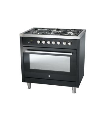 """תנור אפיה משולב מולטיסיסטם ברוחב 90 ס""""מ תא אפיה ענק 107 ליטר תוצרת BELLERS דגם BA90TT"""