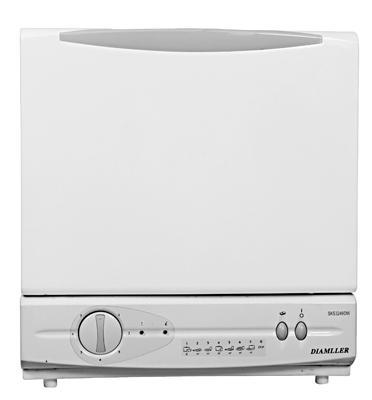 מדיח כלים על השיש 6 תוכניות תוצרת DIAMLLER דגם SKS3249DW