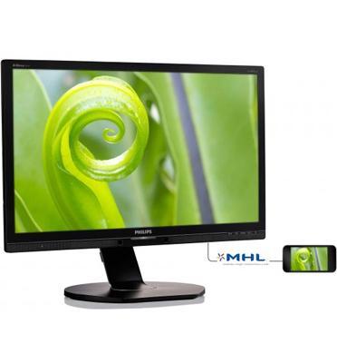 מסך מחשב 23.8''  LED IPS תוצרת Philips דגם 241P6EPJEB