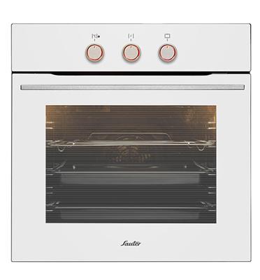 תנור Built-in תא אפייה בנפח 65.5 ליטר תוצרת Sauter דגם SAI1048W צבע לבן