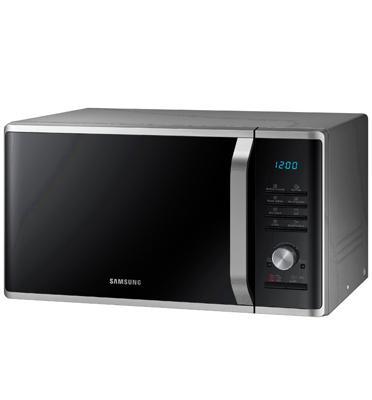 מיקרוגל משולב גריל בנפח 28 ליטר 20 תוכניות אוטומטיות לבישול בריא תוצרת Samsung דגם MG28J5215AS