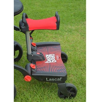 טרמפיסט גדול במיוחד כולל כיסא ישיבה מתחבר בקלות לרוב העגלות מבית Lascal
