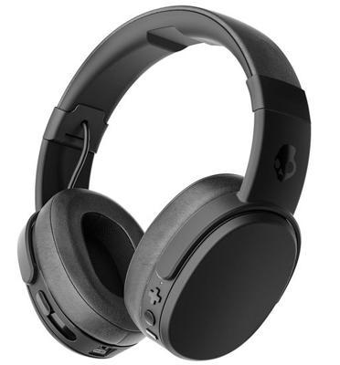 אוזניות בעלות עוצמה, ערוץ כפול, בידוד רעשים וסוללה עד 4 ש' מבית Skullcandy דגם CRUSHER Wireless