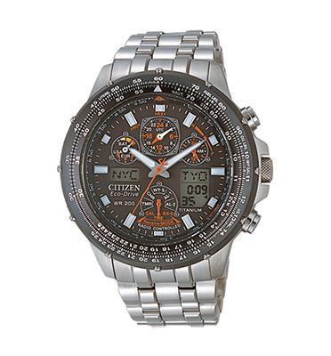 שעון צלילה סולארי מתכוונן עצמאית עשוי סופר טיטניום מבית CITIZEN דגם CI-JY008062E