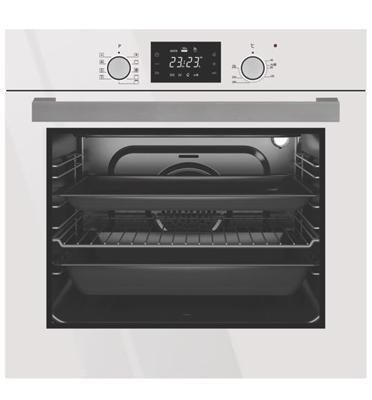 """תנור אפייה בנוי ברוחב 60 ס""""מ 9 תוכניות זכוכית לבנה תוצרת LY VENT דגם OV-S-305"""