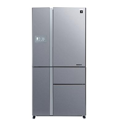 מקרר 5 דלתות בנפח 661 ליטר No-Frost מנוע אינוורטר תוצרת SHARP דגם SJ9610