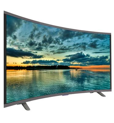 "טלוויזיה מסך 55"" SMART CURVED 4K ULTRA HD LED TV מבית Peerless דגם P553-4K"