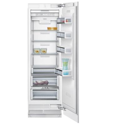 מקרר אינטגרלי מסדרת A-Cool – להבניה בארונות המטבח בנפח 382 ליטר נטו תוצרת SIEMENS דגם CI24RP01