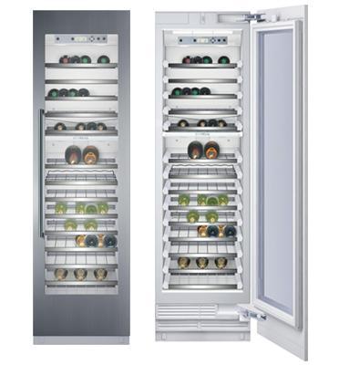 מקרר יין אינטגרלי מסדרת A-Cool – להבניה בארונות המטבח תוצרת SIEMENS דגם CI24WP02