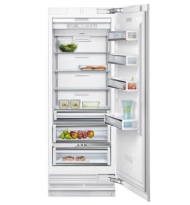 מקרר אינטגרלי מסדרת A-Cool – להבניה בארונות המטבח בנפח 490 ליטר תוצרת SIEMENS דגם CI30RP01
