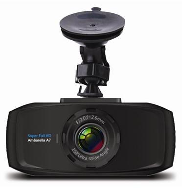 מצלמת תיעוד לרכב FULL HD זווית צילום רחבה של 170° מבית NOVOGO דגם NV16