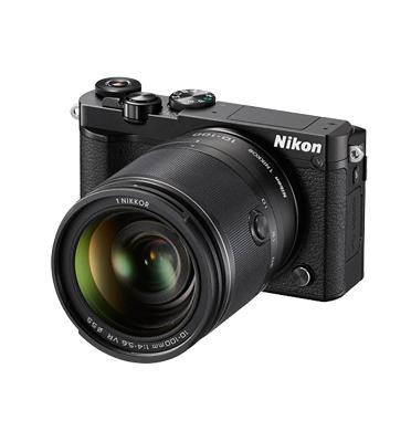 מצלמה ללא מראה 4K 20MP וידאו עדשה 10-100mm VR PD תוצרת NIKON דגם NIKON 1 J5
