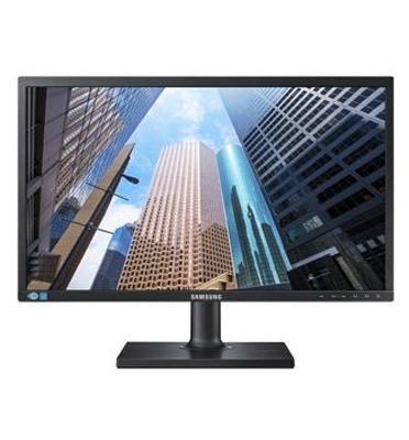 """מסך מחשב 22"""" כולל רמקולים מובנים, רגלית מתכווננת תוצרת SAMSUNG דגם S22E450DW"""