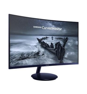 """מסך מחשב 27"""" מקצועי יוקרתי קעור לגיימרים ומקצוענים צבע כחול ים תוצרת SAMSUNG דגם C27H580FD"""