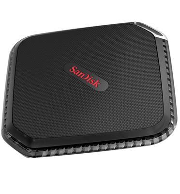 כונן SSD חיצוני בנפח 250GB מסדרת Extreme® 500 Portable SSD מבית SanDisk דגם SDSSDEXT-250G-G25