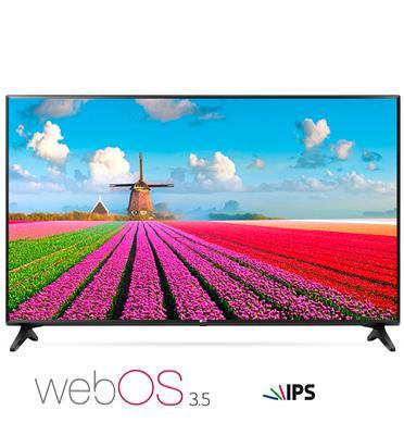 טלוויזיה חכמה 43 אינץ' LED Smart TV ברזולוציית Full HD עם פאנל IPS מבית LG דגם 43LJ550Y